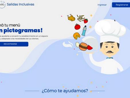 Crearon una página que genera menús con pictogramas para niños con autismo