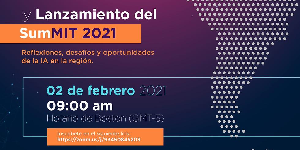 Presentación E-Book: impacto de la inteligencia artificial en América Latina y Lanzamiento Summit 2021.