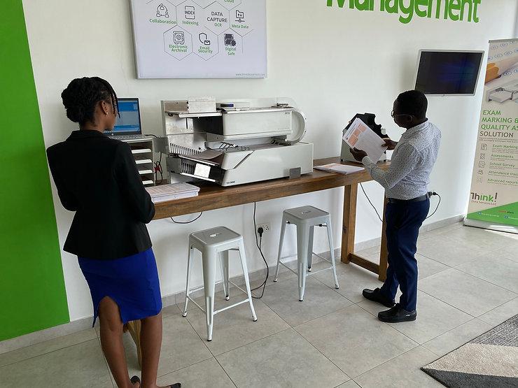 Data scanning process