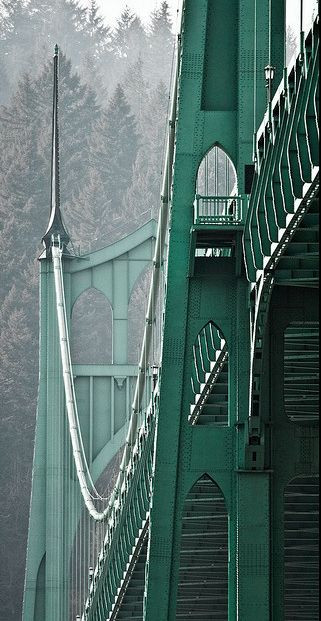St John's bridge, Portland, Oregon.jpg