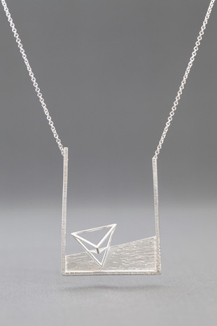 Transforming Triangle Necklace