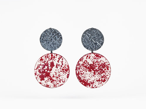 Multiway Double Disc Earrings