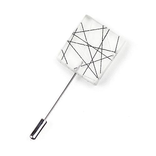 Crossing Strings in Square Resin Pin