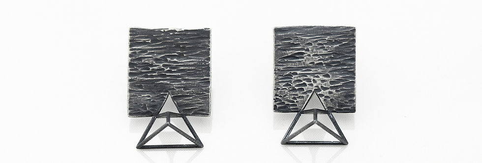 Transforming Triangle Earrings