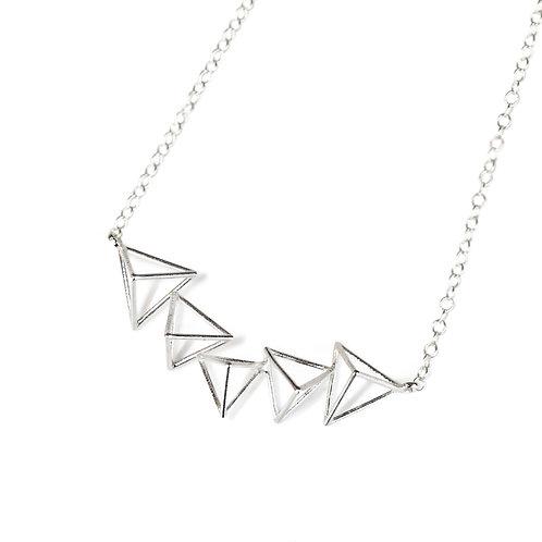 Triangle Choker Necklace