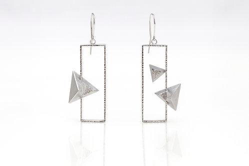 Asymmetric Dangle Earrings
