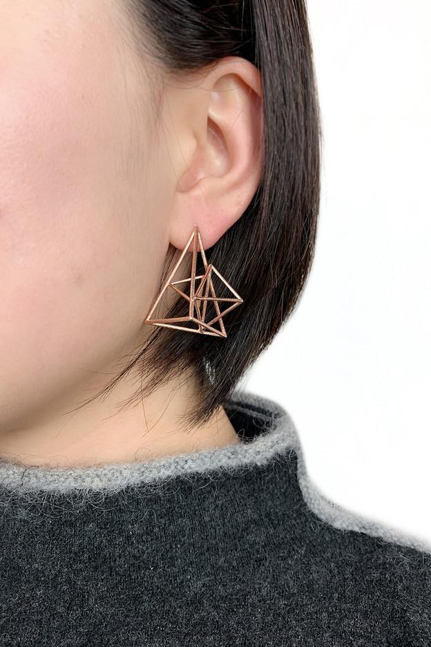 Rose Gold Vermeil Earrings