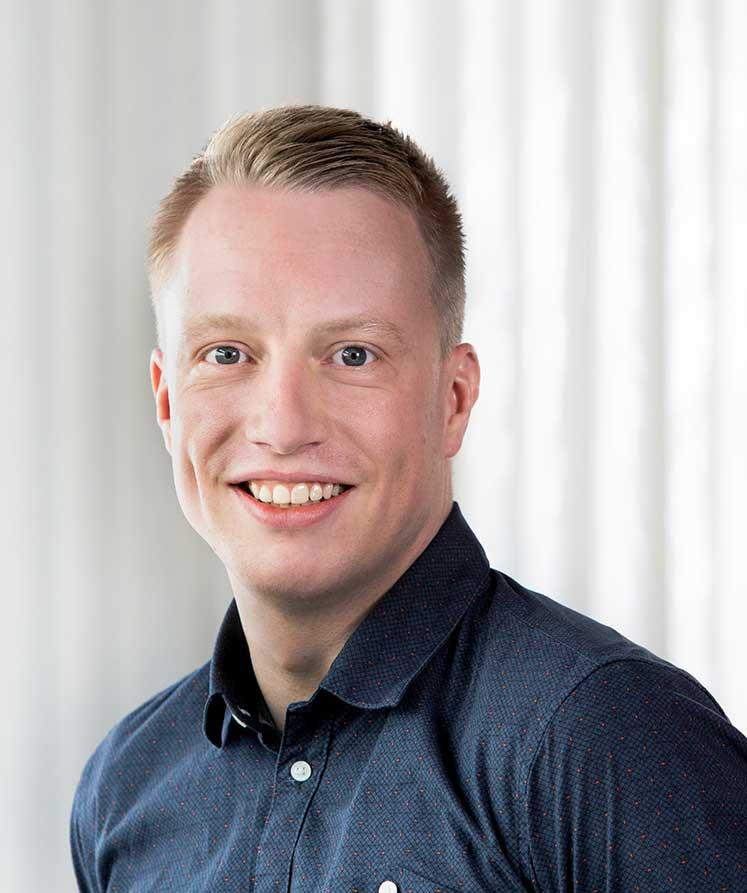 Tobias Kirtz ist Workplace Consultant bei Assmann Büromöbel