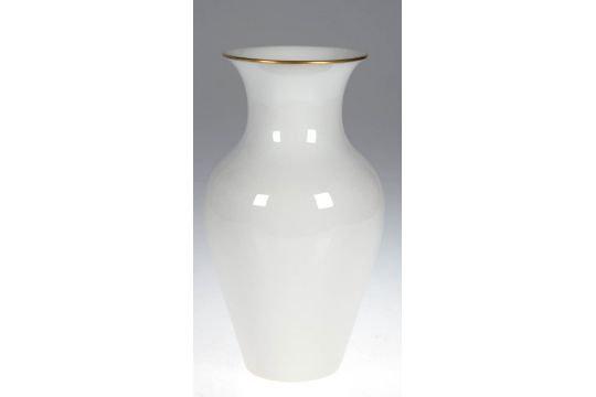 »SYRINGA« Vase mit goldenem Rand . 390 mm