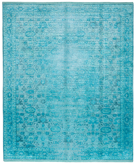 »BIDJAR STOMPED«   Reverse. turquoise