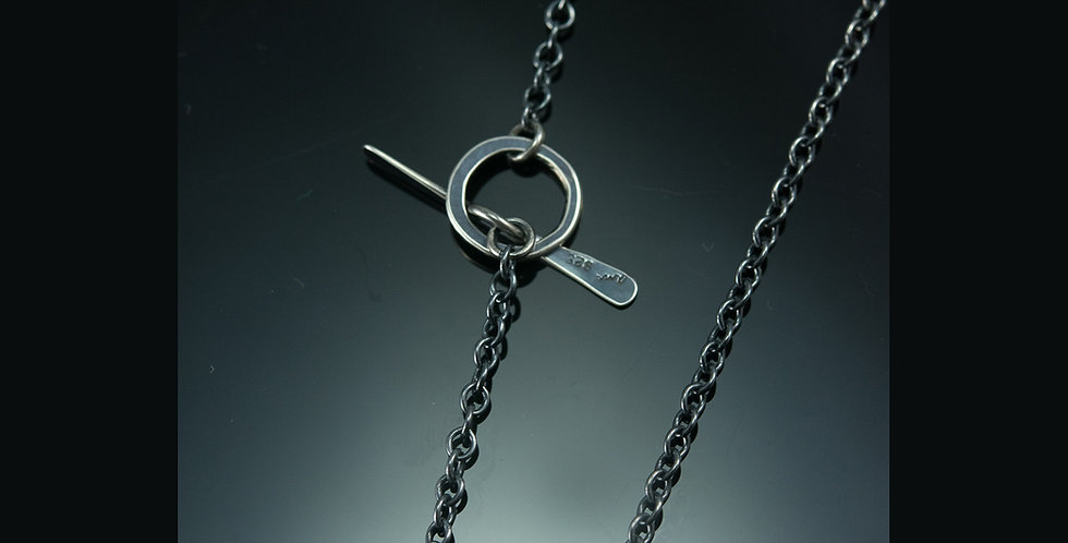 Silver Handmade Toggle Chain Various Lengths