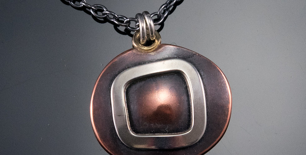 Copper Universe Necklace