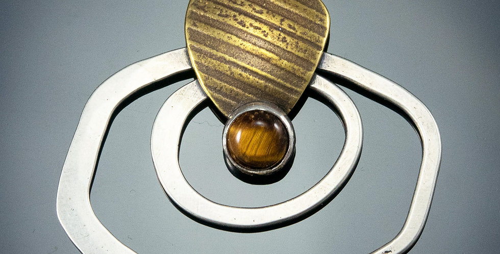 Tiger Eye Funky Orbit Pendant