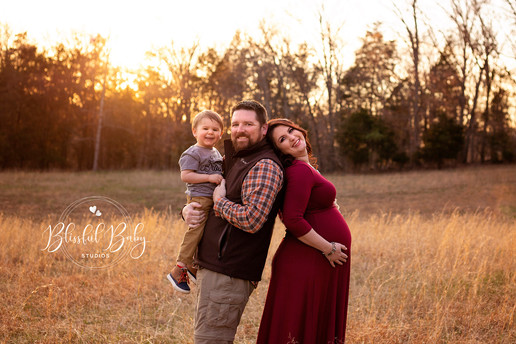Outdoor Maternity Photo Session