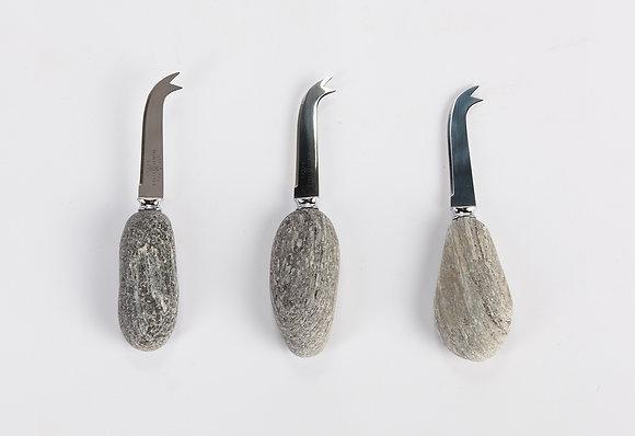 Stone Handle Cheese Knife