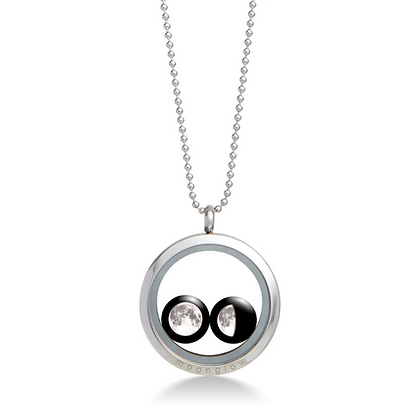 Moonglow Locket Necklace