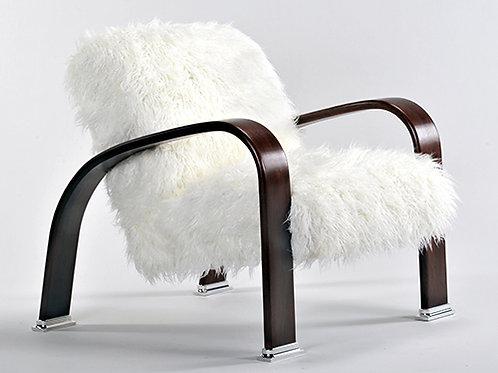 Mongolian Fur Lounge Chair