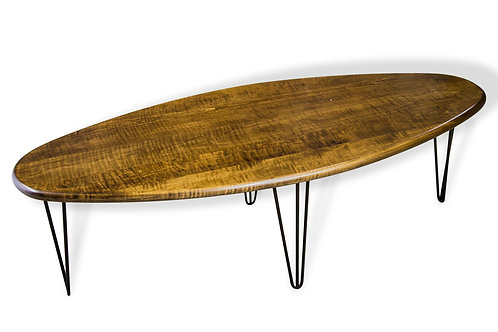 Mid Century Surfboard Table