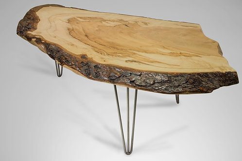 Silver Maple Live Edge Table
