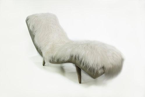 Icelandic Fur Chaise Lounge