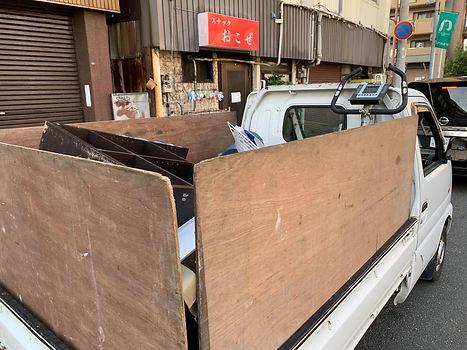 福岡市中央区大手門不用品回収