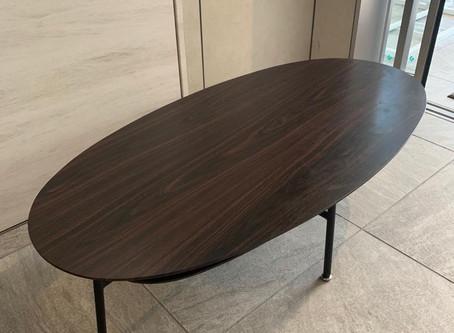 ローテーブルの回収作業