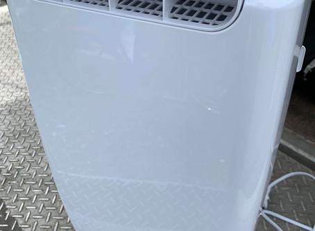 衣類乾燥除湿機の回収作業(福岡市)