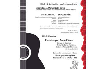 Seminario Guitarra y Percusión Flamencos