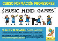 Curso formación profesores MUSIC MIND GAMES