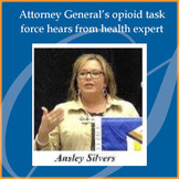 Vice President Ansley Silvers Speaks at Statewide Opioid Task Force Meeting