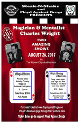 Two Magical Shows to Benefit FAD – August 26, 2017