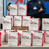 Floyd Against Drugs Donates Opioid Antidote Naloxone to Local Law Enforcement Agencies