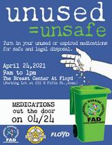 Medication Drop Off April 24, 2021