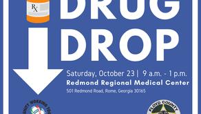 Drug Drop - National Prescription Drug Take-Back Day