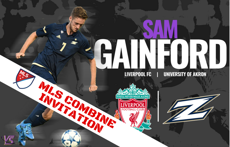 Sam Gainford MLS Combine