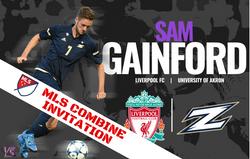 Sam Gainford MLS Combine