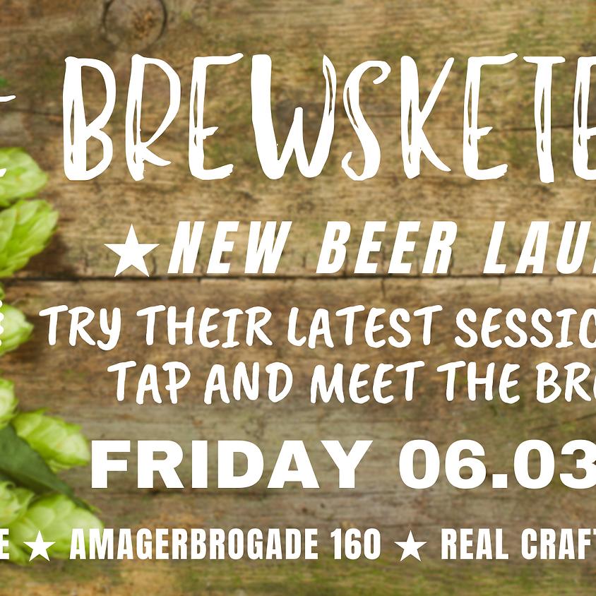 BREWSKETEERS New Beer Release Party