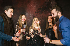 new-year-party-friendship-concept-with-f