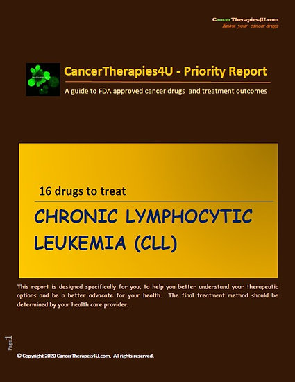 CHRONIC LYMPHOCYTIC LEUKEMIA: treatments, side effects and outcomes