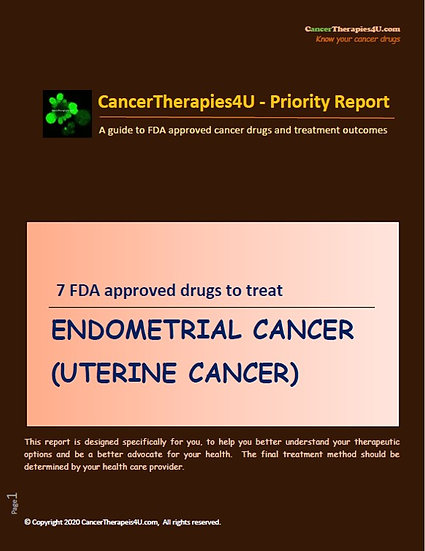 ENDOMETRIAL CANCER (UTERINE CANCER): treatments, side effects and outcomes