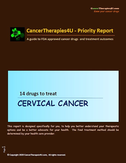 CERVICAL CANCER: treatment, side effects and outcomes