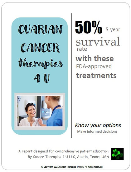 Ovarian Cancer Treatment Options & Outcomes - information resource for patients
