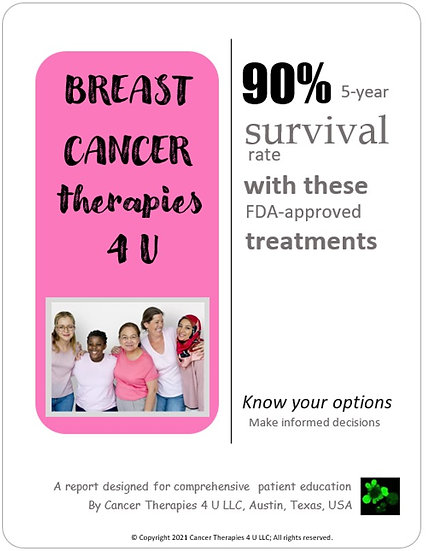 Breast Cancer Treatment Options And Outcomes - resource for patients