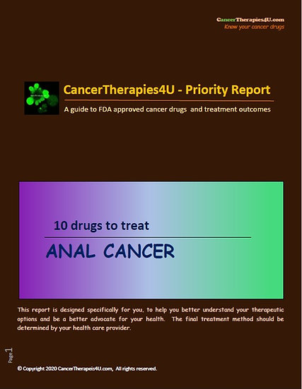 ANAL CANCER: treatments, side effects and outcomes