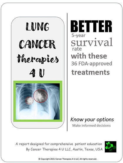 Lung Cancer Treatment Options And Outcomes - information resource for patients