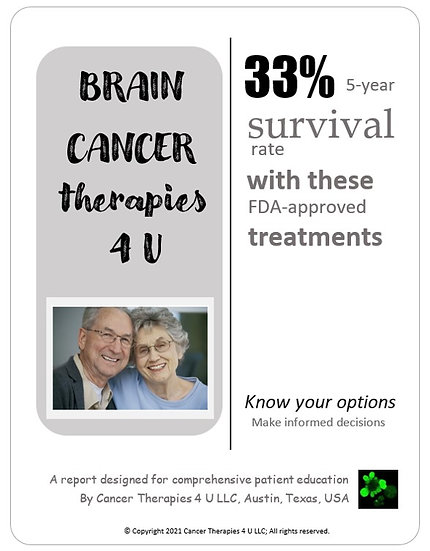 Brain Cancer Treatment Options and Outcomes - information resource for patients