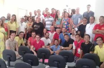Confira as fotos do Seminário realizado em Jacobina, onde, a Diretoria do Sindicato dos Bancários de