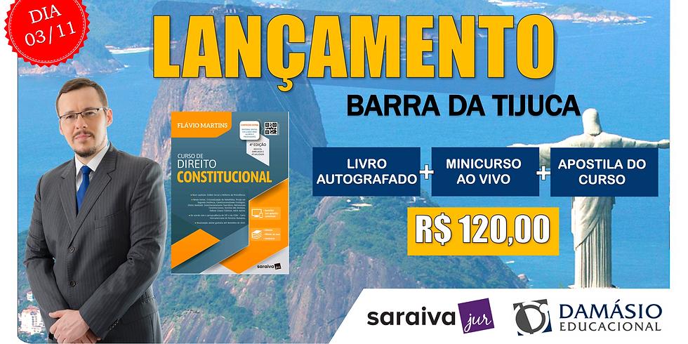 LANÇAMENTO: RIO (BARRA) - 03/11