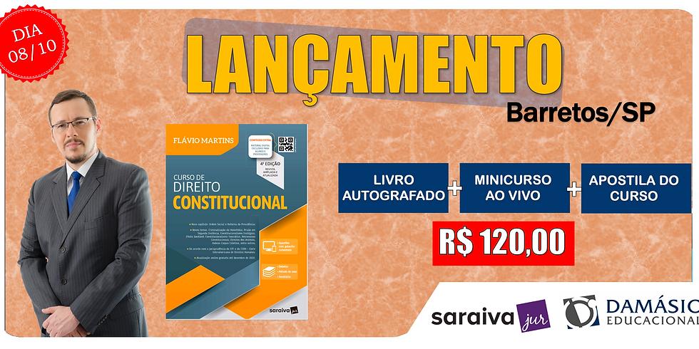 LANÇAMENTO: BARRETOS/SP - 08/10