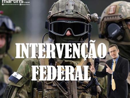 Intervenção Federal no Rio de Janeiro